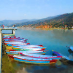 hewa Lake, Pokhara, Nepal