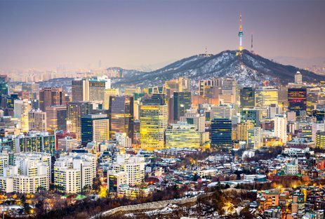 Seoul City, Korea