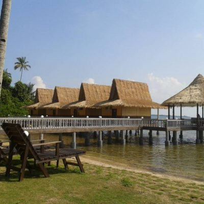 bintan spa villa outdoor