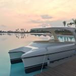 Bintan Canopi Crystal Lagoon Evening