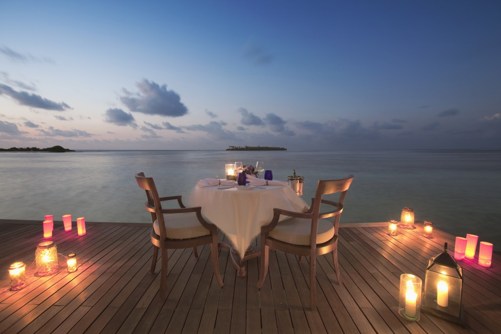 Maldives Residence In Villa Private Dining