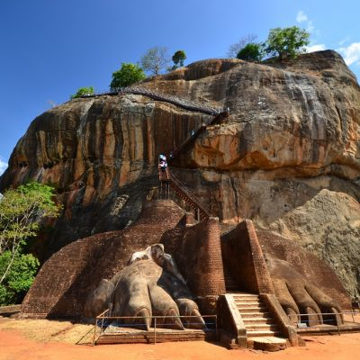 Sigiriya Lion Rock Fortress in Sri Lanka
