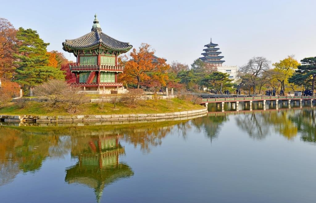 Gyeongbokgung Seoul South Korea 2