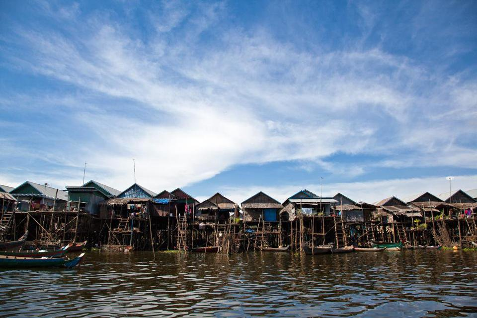 Floating Kampong Khleang Siem Reap Cambodia