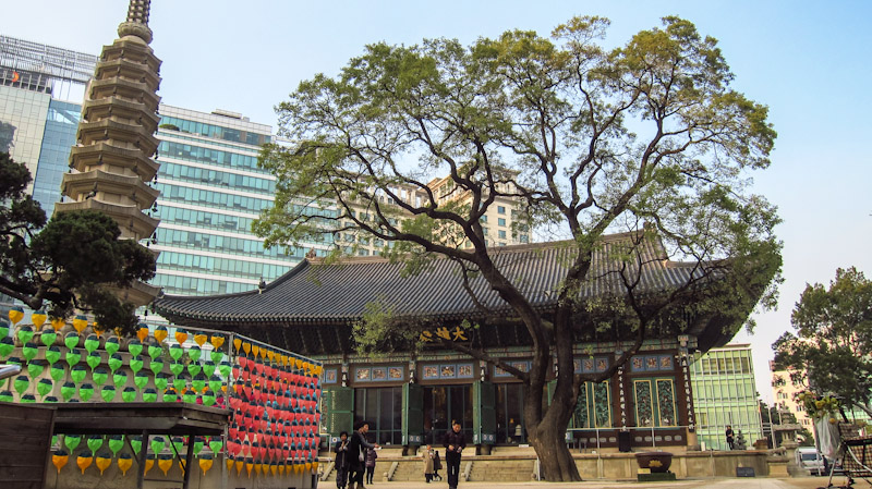 Jogyesa Temple Seoul South Korea