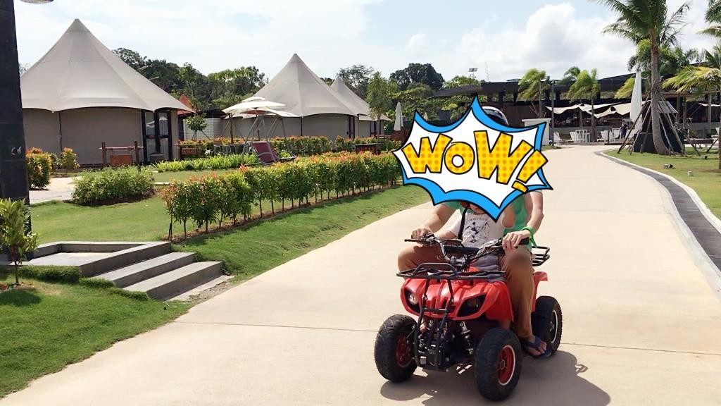 Bintan Canopi Electric ATV